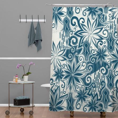 тканевые шторки для ванной фото 2