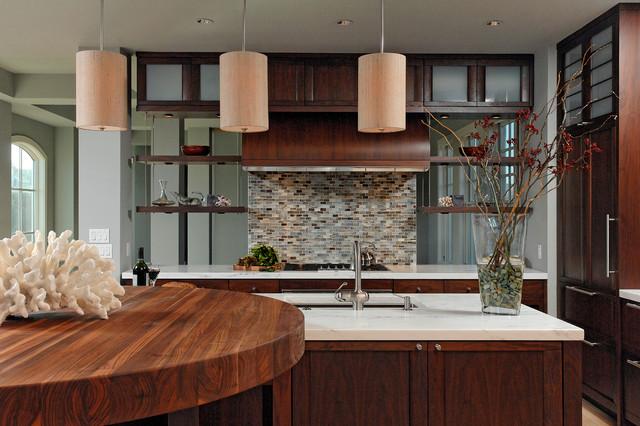 восточный стиль в интерьере кухни фото