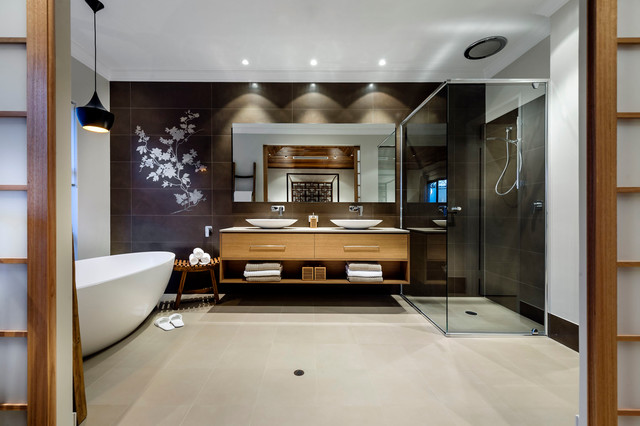 ванная в японском стиле фото 1