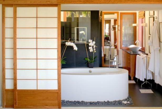 ванная в японском стиле фото 6