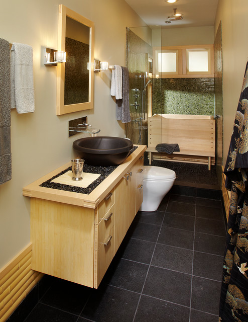 ванная в японском стиле фото 5