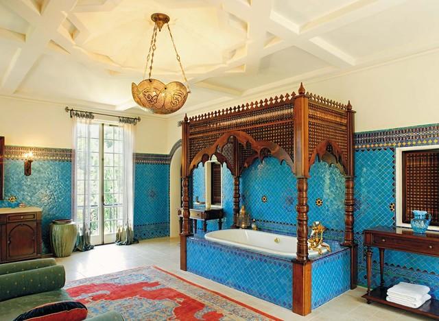 Ванная в марокканском стиле фото 1