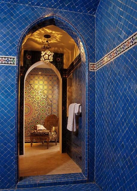 Ванная в марокканском стиле фото 2