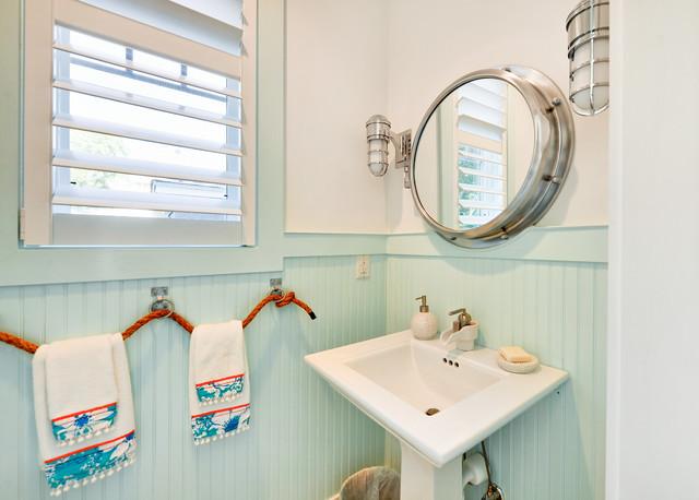 ванная в морском стиле фото 1