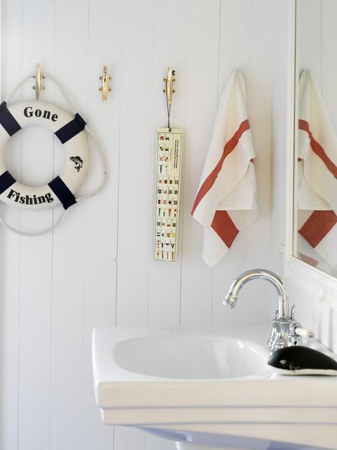 ванная в морском стил фото 4