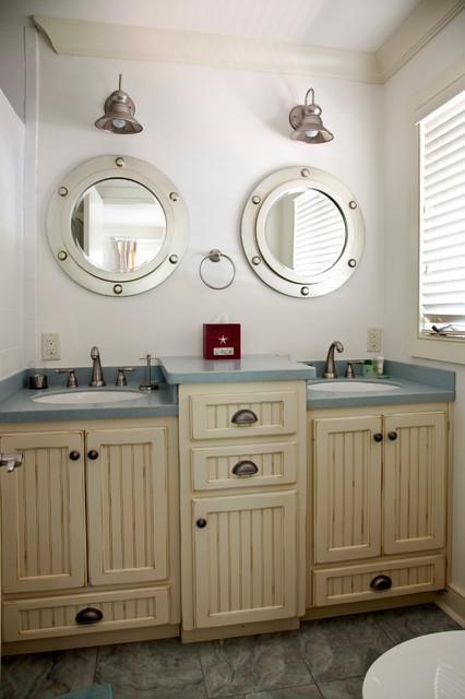 ванная в морском стил фото 3