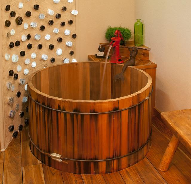 деревянная ванна фото 3