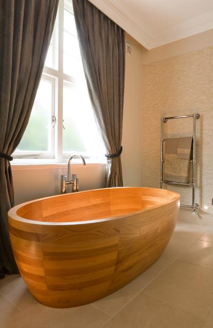 деревянная ванна фото 1