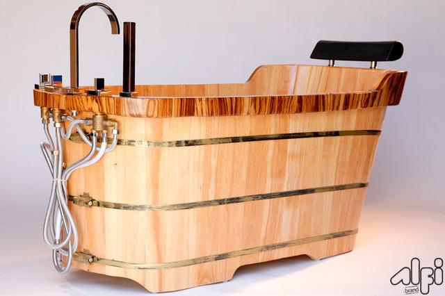 деревянные ванны фото 4