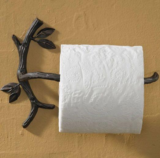 Своими руками держатели для туалетной бумаги
