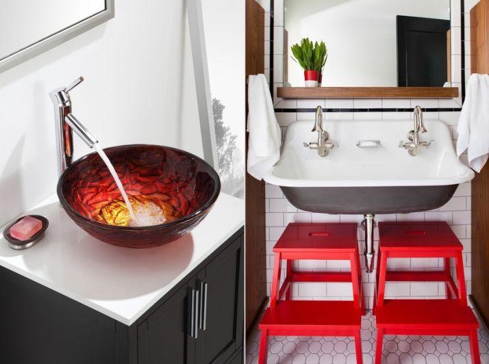 как выбрать раковину в ванную фото 3