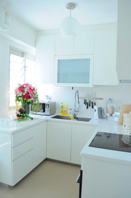 фото дизайн маленькие кухни белые