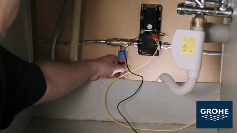 Установка сенсорного смесителя. Шаг 11