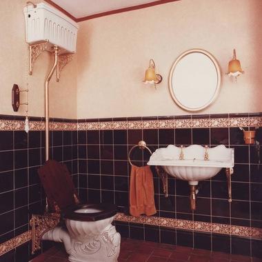 ванная в стиле ретро фото