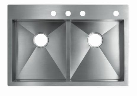 материалы кухонных раковин