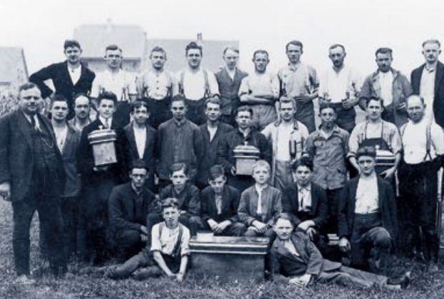 фото 1925 года Хейнрих Бланк