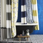 тканевые шторы в ванную