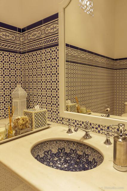 Ванная в марокканском стиле фото 3