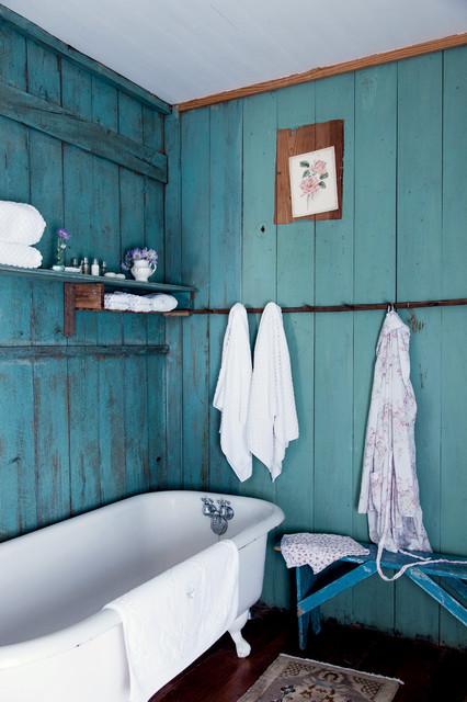 ванна в стиле кантри фото 2