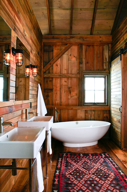 ванна в стиле кантри фото 1