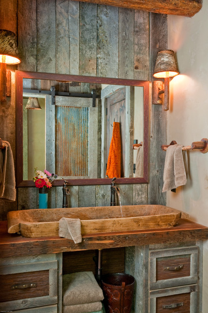 ванна в стиле кантри фото 4