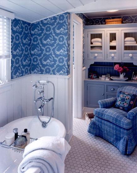 ванна в стиле прованс фото 1