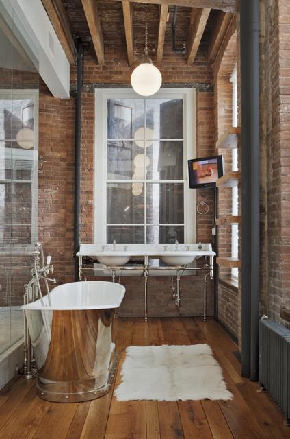 ванна в стиле лофт фото 4