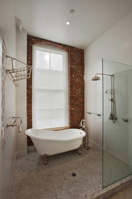 ванна в стиле лофт фото 2