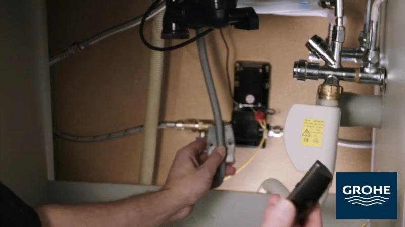 Установка сенсорного смесителя. Шаг 13
