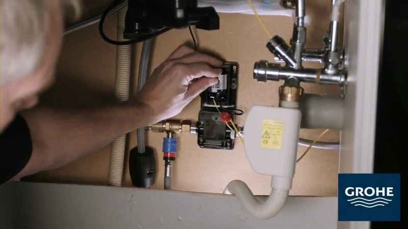 Установка сенсорного смесителя. Шаг 15