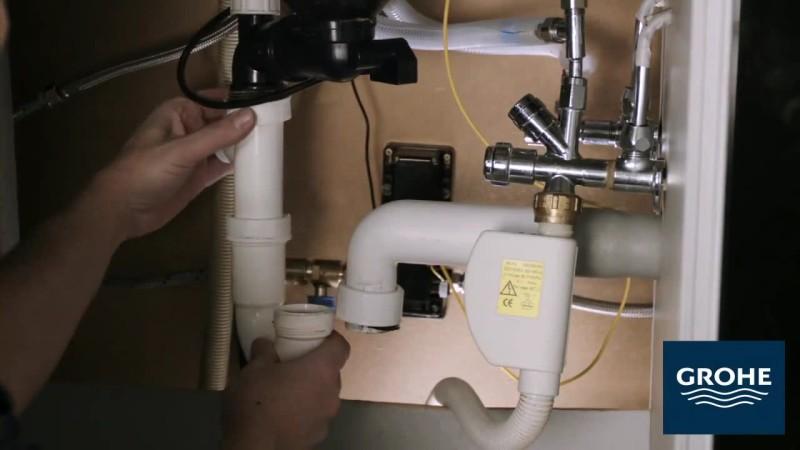 Установка сенсорного смесителя. Шаг 16
