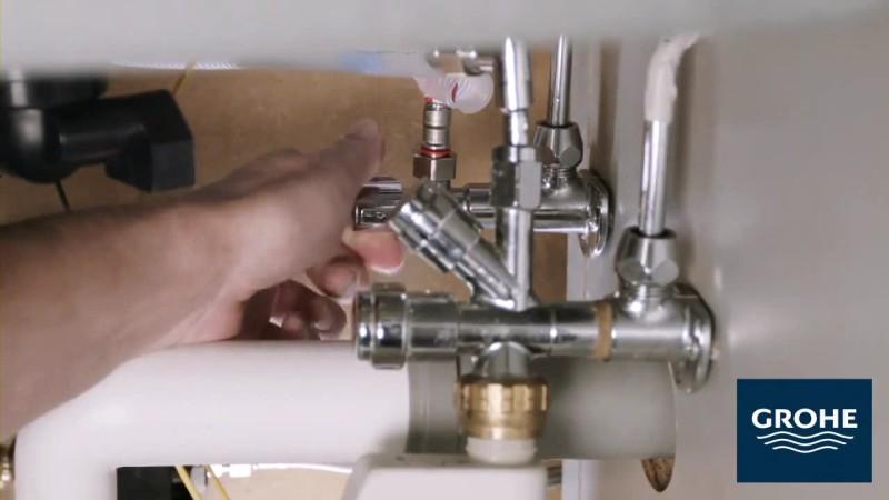 Установка сенсорного смесителя. Шаг 17