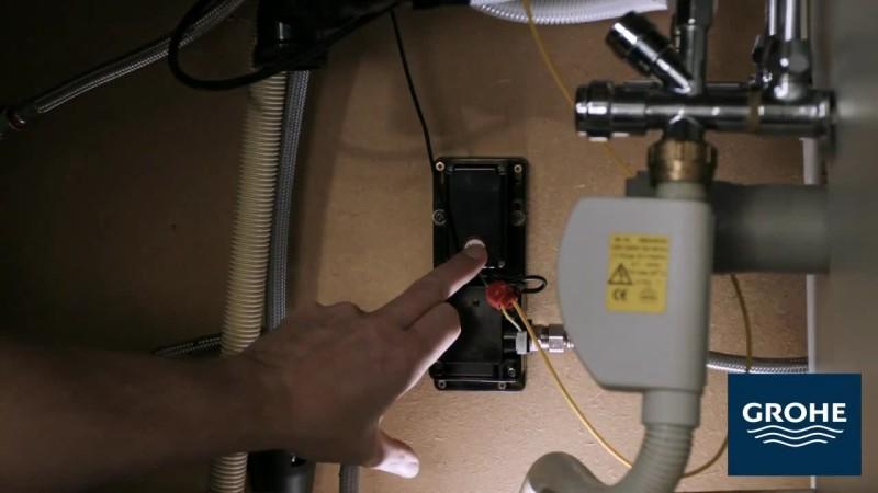 Установка сенсорного смесителя. Шаг 18
