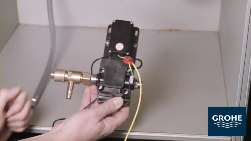 Установка сенсорного смесителя. Шаг 7