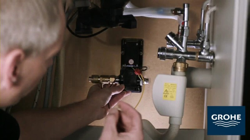 Установка сенсорного смесителя. Шаг 8