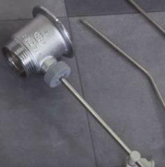Установка смесителя с донным клапаном